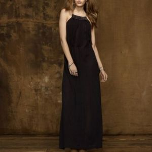 Ralph Lauren black beaded maxi dress NWT